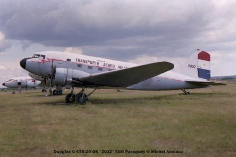 img1119 Douglas C-47B-20-DK ''2032'' TAM Paraguay © Michel Anciaux
