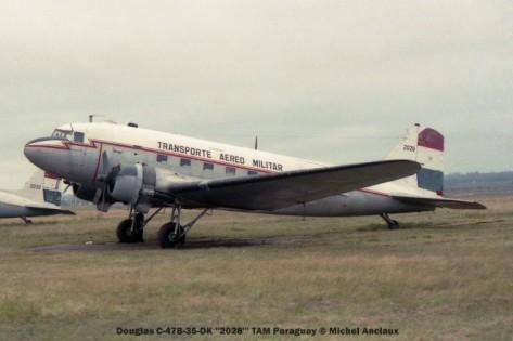 img1124 Douglas C-47B-35-DK ''2028''' TAM Paraguay © Michel Anciaux
