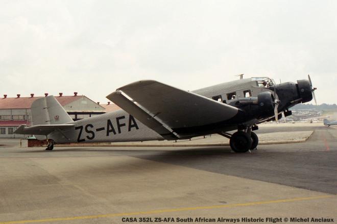 img1452 CASA 352L ZS-AFA South African Airways Historic Flight © Michel Anciaux