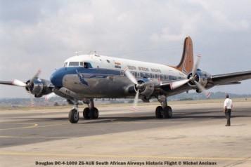 img1455 Douglas DC-4-1009 ZS-AUB South African Airways Historic Flight © Michel Anciaux