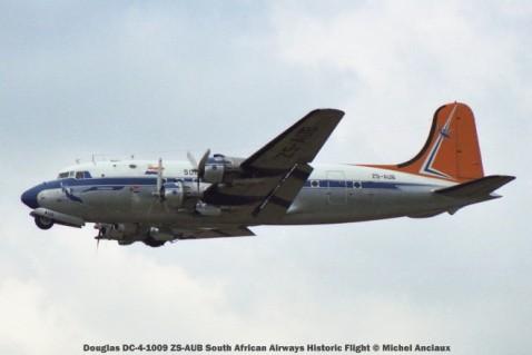 img1457 Douglas DC-4-1009 ZS-AUB South African Airways Historic Flight © Michel Anciaux