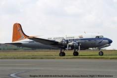 img1459 Douglas DC-4-1009 ZS-AUB South African Airways Historic Flight © Michel Anciaux