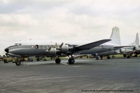 img1673 Douglas DC-6B 9Q-CJE Transair Cargo © Michel Anciaux