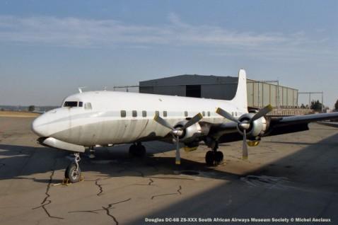img1677 Douglas DC-6B ZS-XXX South African Airways Museum Society © Michel Anciaux