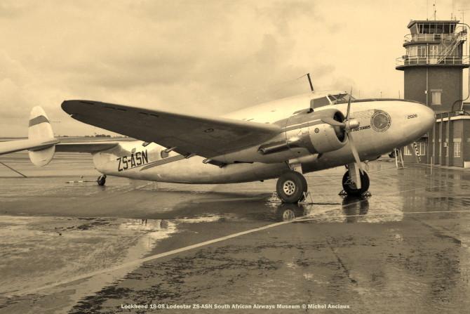 img1681 Lockheed 18-08 Lodestar ZS-ASN South African Airways Museum © Michel Anciaux
