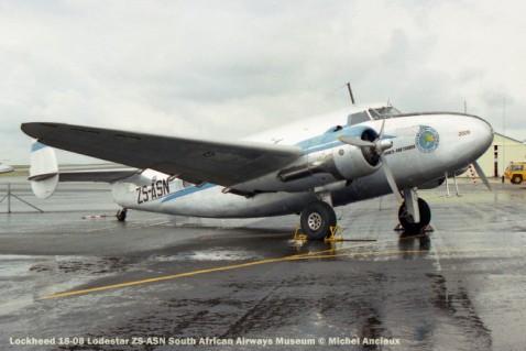 img1682 Lockheed 18-08 Lodestar ZS-ASN South African Airways Museum © Michel Anciaux