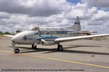 img1685 De Havilland DH.104 Dove 6 ZS-BCC South African Airways Museum © Michel Anciaux