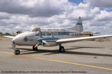 img1685 De Havilland DH.104 Dove 6 ZS-BCC South African Airways Museum © Michel Anciaux