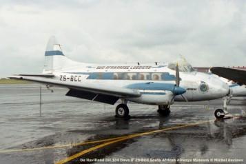 img1686 De Havilland DH.104 Dove 6 ZS-BCC South African Airways Museum © Michel Anciaux