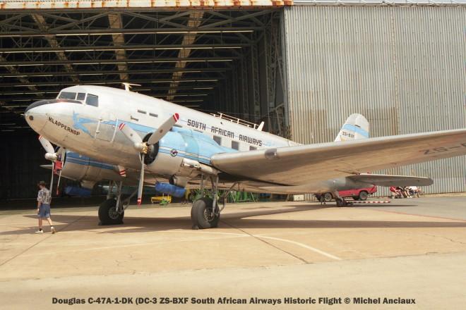 img1688 Douglas C-47A-1-DK (DC-3 ZS-BXF South African Airways Historic Flight © Michel Anciaux