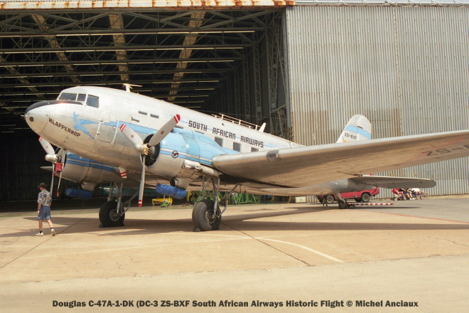 img1688 Douglas C-47A-1-DK (DC-3 ZS-BXF South African Airways Historic Flight © Michel Anciaux
