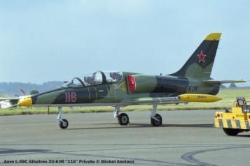 img1801 Aero L-39C Albatros ZU-KIM ''116'' Private © Michel Anciaux