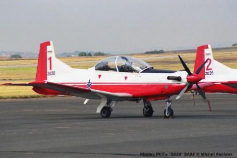 img1803 Pilatus PC7's ''2020'' SAAF © Michel Anciaux