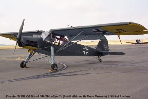 img1806 Fieseler Fi 156 C-7 Storch VD+TD Luftwaffe (South African Air Force Museum) © Michel Anciaux