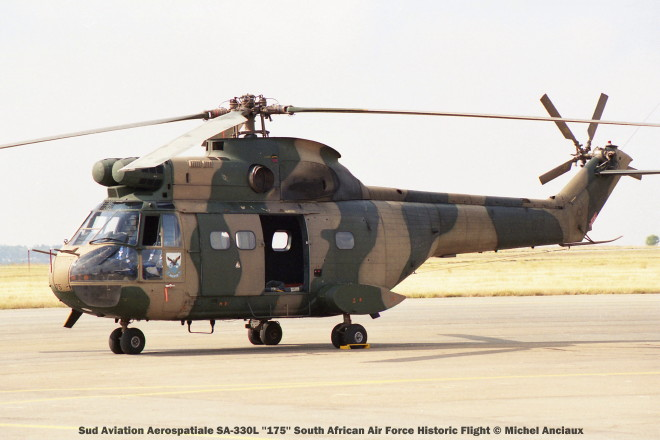 img1814 Sud Aviation Aerospatiale SA-330L ''175'' South African Air Force Historic Flight © Michel Anciaux
