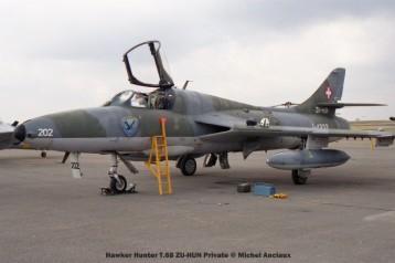 img1822 Hawker Hunter T.68 ZU-HUN Private © Michel Anciaux