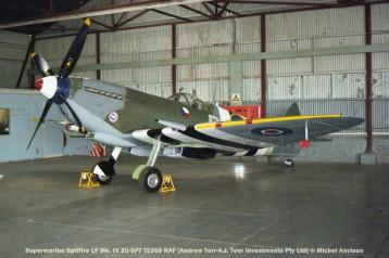 img1860 Supermarine Spitfire LF Mk. IX ZU-SPT TE566 RAF (Andrew Torr-A.J. Toor Investments Pty Ltd) © Michel Anciaux