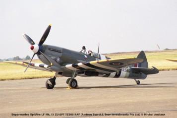 img1861 Supermarine Spitfire LF Mk. IX ZU-SPT TE566 RAF (Andrew Torr-A.J. Toor Investments Pty Ltd) © Michel Anciaux