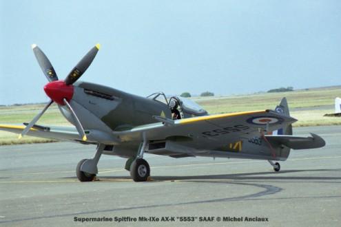 img1866 Supermarine Spitfire Mk-IXe AX-K ''5553'' SAAF © Michel Anciaux