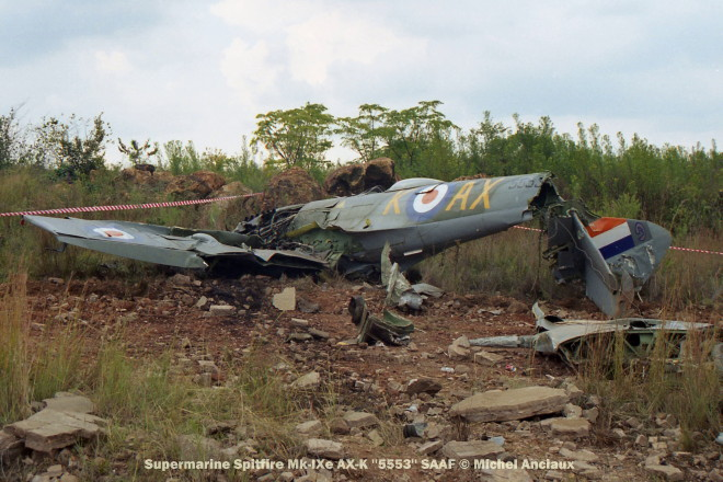 img1868 Supermarine Spitfire Mk-IXe AX-K ''5553'' SAAF © Michel Anciaux