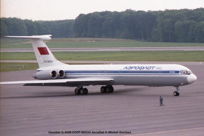 img235 Ilyushin IL-62M CCCP-86534 Aeroflot © Michel Anciaux