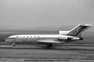 img450 Boeing 727-029C OO-STB SABENA © Michel Anciaux