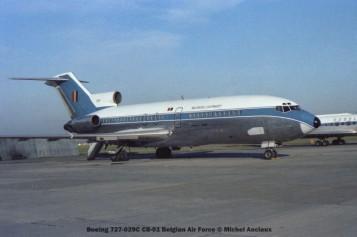 img452 Boeing 727-029C CB-01 Belgian Air Force © Michel Anciaux