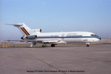 img453 Boeing 727-029C CB-01 Belgian Air Force © Michel Anciaux