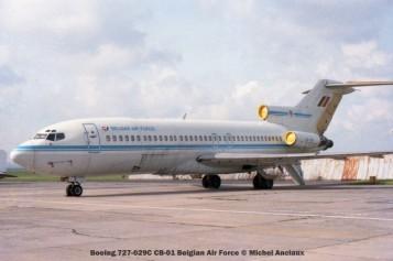 img454 Boeing 727-029C CB-01 Belgian Air Force © Michel Anciaux