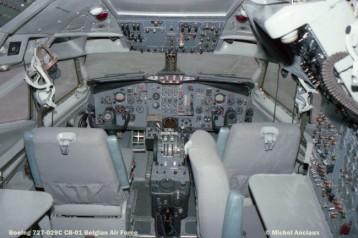 img456 Boeing 727-029C CB-01 Belgian Air Force © Michel Anciaux