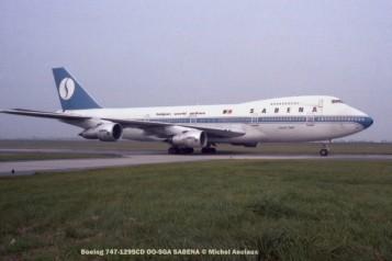 img460 Boeing 747-129SCD OO-SGA SABENA © Michel Anciaux
