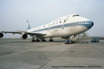 img461 Boeing 747-129SCD OO-SGA SABENA © Michel Anciaux
