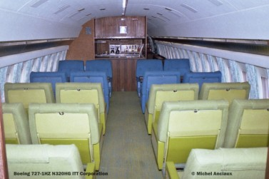 img465 Boeing 727-1HZ N320HG ITT Corporation © Michel Anciaux
