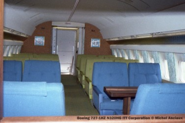 img466 Boeing 727-1HZ N320HG ITT Corporation © Michel Anciaux