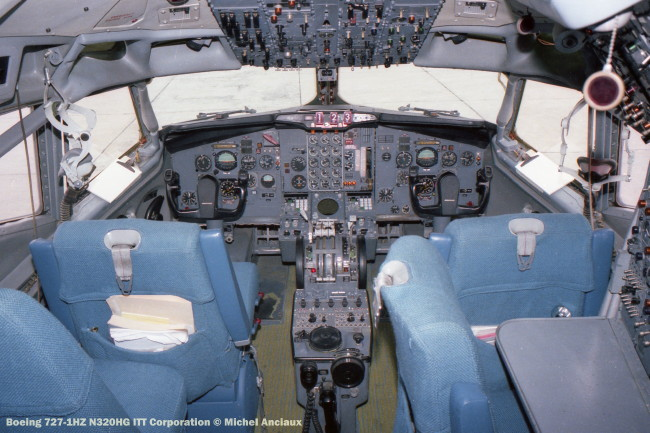 img473 Boeing 727-1HZ N320HG ITT Corporation © Michel Anciaux