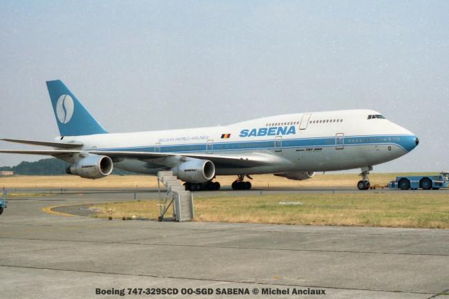 img489 Boeing 747-329SCD OO-SGD SABENA © Michel Anciaux