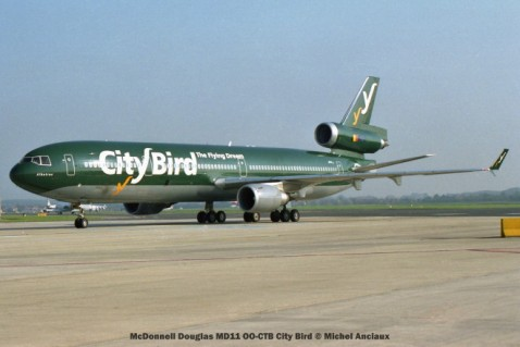 img504 McDonnell Douglas MD11 OO-CTB City Bird © Michel Anciaux