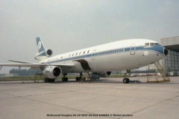 img527 McDonnell Douglas DC-10-30CF OO-SLB SABENA © Michel Anciaux