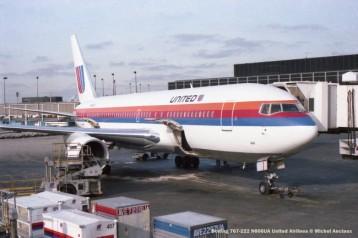 img552 Boeing 767-222 N606UA United Airlines © Michel Anciaux
