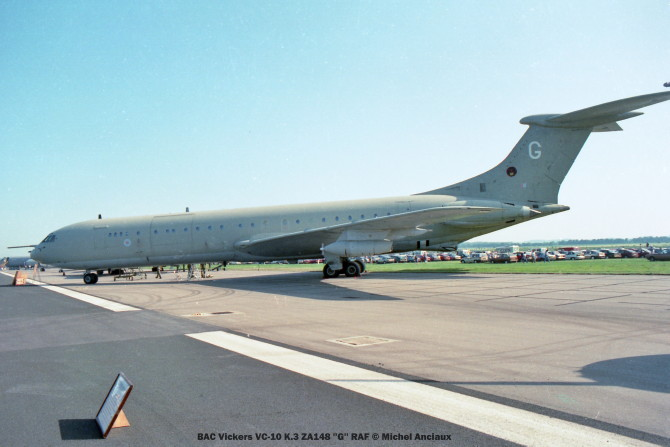 img581 BAC Vickers VC-10 K.3 ZA148 ''G'' RAF © Michel Anciaux