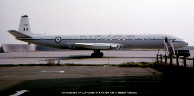 img627 De Havilland DH-106 Comet C.4 XR399 RAF © Michel Anciaux