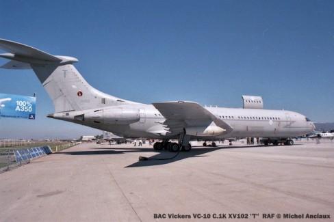 img791 BAC Vickers VC-10 C.1K XV102 ''T'' RAF © Michel Anciaux