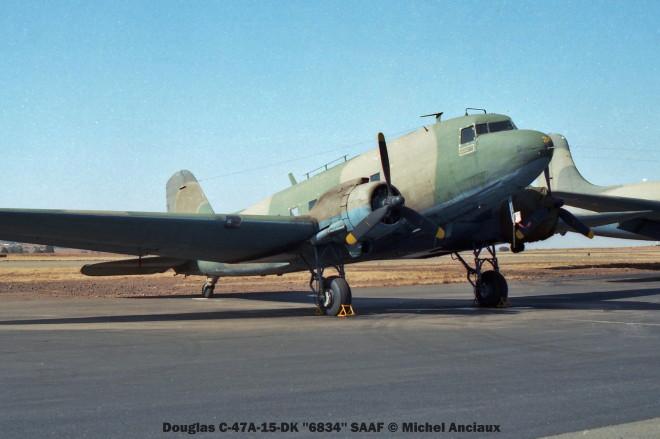 img928 Douglas C-47A-15-DK ''6834'' SAAF © Michel Anciaux