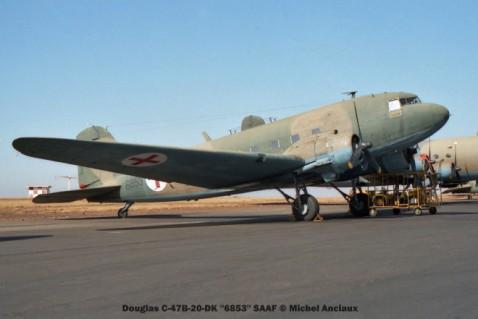img929 Douglas C-47B-20-DK ''6853'' SAAF © Michel Anciaux