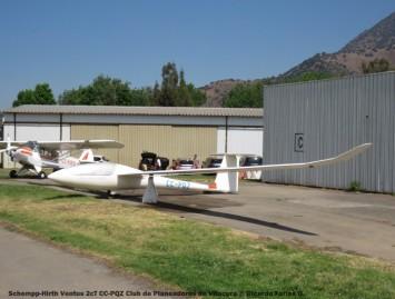 IMG_0114 Schempp-Hirth Ventus 2cT CC-PQZ Club de Planeadores de Vitacura © Ricardo Farías O.