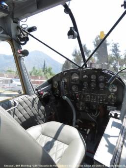 IMG_0341 Cessna L-19A Bird Dog ''324'' Escuela de Volovelismo de la Fuerza Aérea de Chile © Ricardo Farías O.