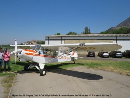 Open Day - 02 Piper PA-18 Super Cub CC-KWQ Club de Planeadores de Vitacura © Ricardo Farías O.