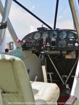 Open Day - 03 Piper PA-18 Super Cub CC-KWQ Club de Planeadores de Vitacura © Ricardo Farías O.