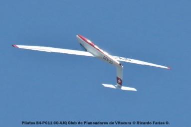Open Day - 20 Pilatus B4-PC11 CC-AJQ Club de Planeadores de Vitacura © Ricardo Farías O.