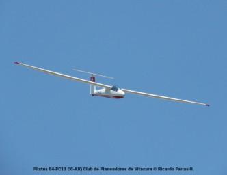 Open Day - 21 Pilatus B4-PC11 CC-AJQ Club de Planeadores de Vitacura © Ricardo Farías O.